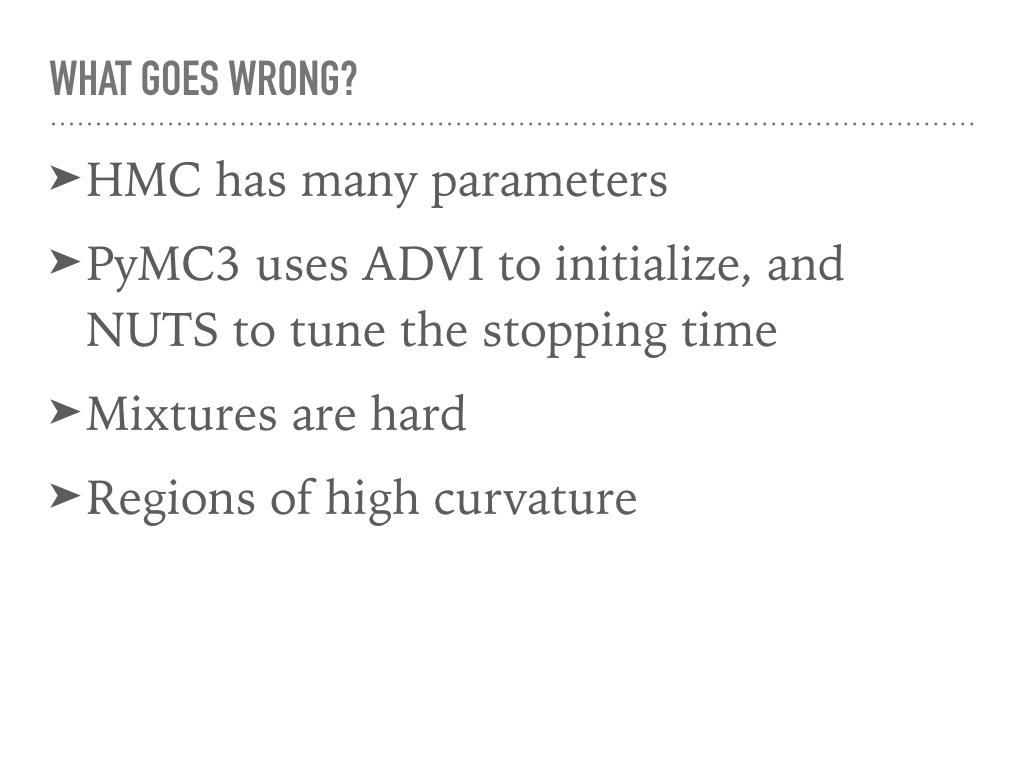 Hamiltonian Monte Carlo in PyMC3 | Colin Carroll